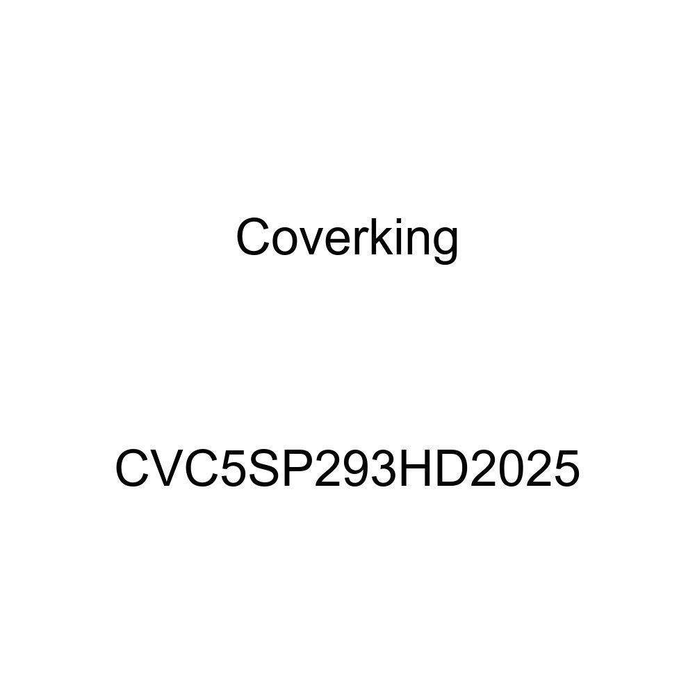 Coverking CVC5SP293HD2025 2-Tone Black-Yellow Stormproof Custom Vehicle Cover
