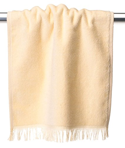 Fringed Towel 11x18 Fingertip - Anvil Oeko Tex 11