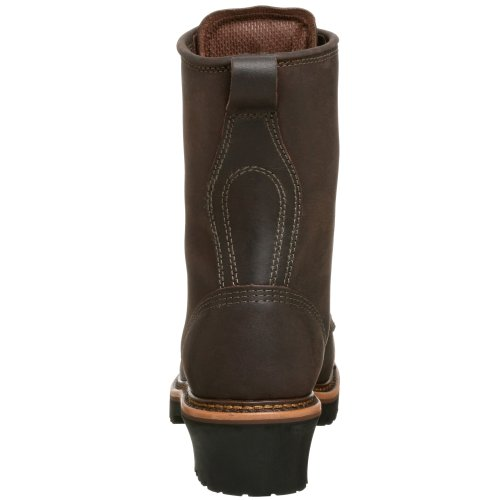 Golden Retriever Menns 9 Arbeid Boot Brown