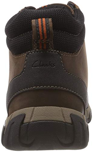 brown Da Clarks Uomo Top Leather Walbeck Neve Ii Marrone Stivali FwBAx7fq