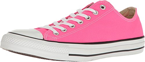 Converse Unisex Chuck Taylor All Star Low Top Pink Pow Sneakers - 11 B(M) US Women / 9 D(M) US ()
