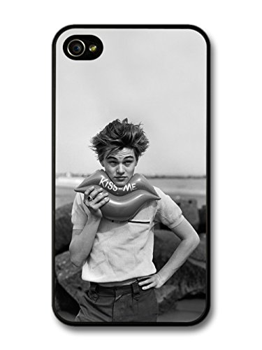 Leonardo Dicaprio Young Kiss Me coque pour iPhone 4 4S