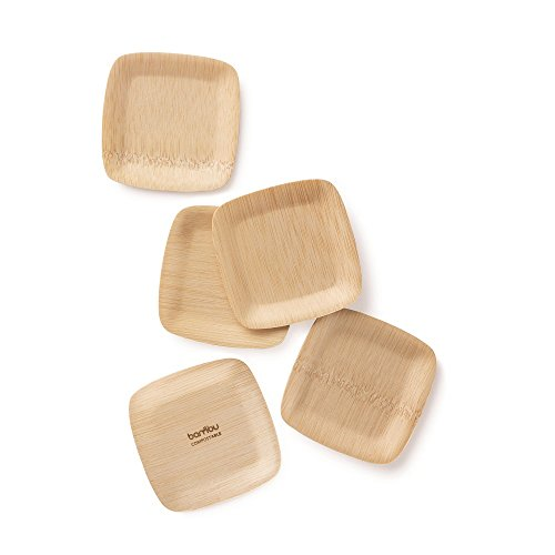 Previous · / Next  sc 1 st  Compostable Plates & BAMBU \u2013 3.5\u201d Bamboo Square Tasting Plates (Pack of 250 ...