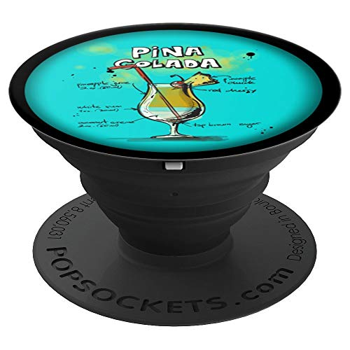 Cocktail Popsocket - Cocktail Pop Socket - Pina Colada - PopSockets Grip and Stand for Phones and Tablets