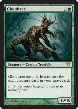 Magic: the Gathering – Ghoultree (115) – Dark Ascension