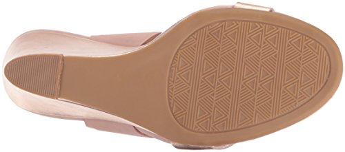 Cl Av Kinesiske Vaskeri Kvinners Baja Kile Sandal Rose Gull / Multi Metallisk
