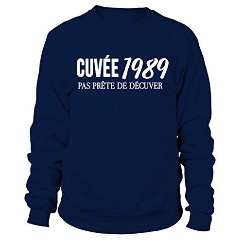 Unisex France Anniversaire Décuver Drôle 29 En Unisexe Fun Alcool Ans Closset De 1989sweat Et Pas Sweat 1989 Imprimé Humour Prête Cuvée xwB74T1q