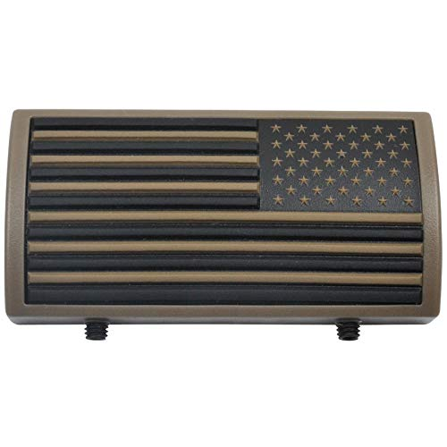 Medals of America Gun Rail PVC Tan American Flag Stars Right Multicolored by Medals of America