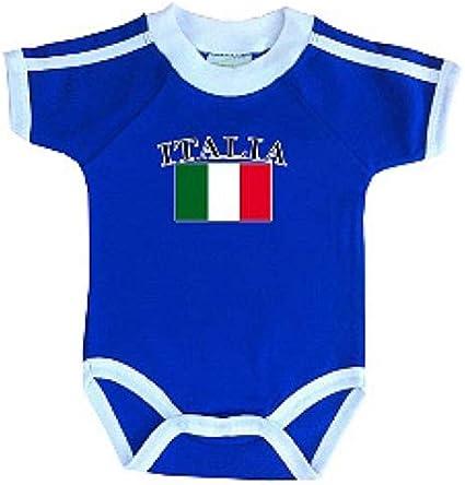 Italy Soccer Retro National Team Infant Bodysuit