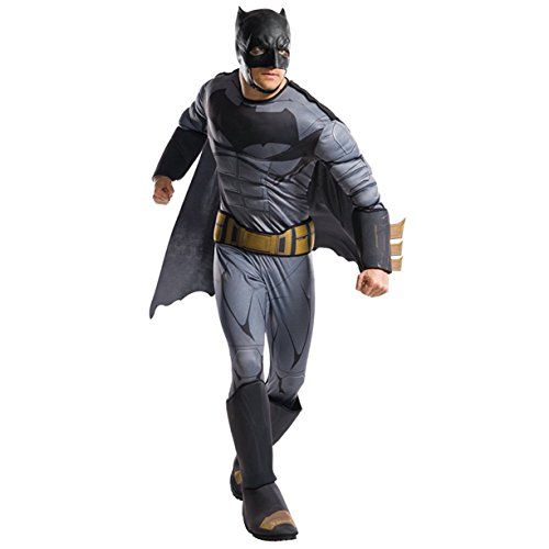Rubie's Costume Co. Men's Batman Adult Deluxe Costume, As Shown, (Batman Costumes For Adults Authentic)