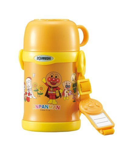 ZOJIRUSHI vacuum stainless steel bottle 450ml SC-LE45A-EG Orange (Anpanman) by Zojirushi