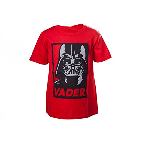 Star Wars Childrens Costumes Uk (Star Wars Kids Unisex Darth Vader Framed Close-Up T-Shirt | Age Years 2 to 4 Red)