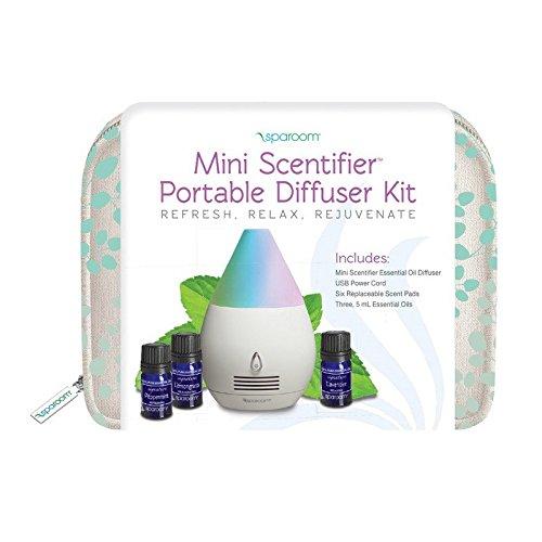 SpaRoom Mini Scentifier Diffuser Bag Kit, 0.25 Pound