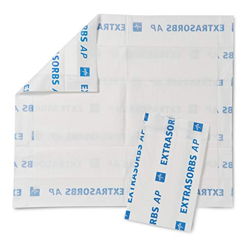 Medline Extrasorbs Drypad Underpads Air Permeable 30 x 36 inches (Pack of 25) ()