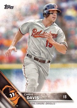 Amazoncom 2016 Topps 14 Chris Davis Baseball Card
