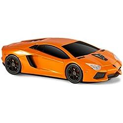 Lamborghini Aventador Wireless Computer Mouse -- Orange