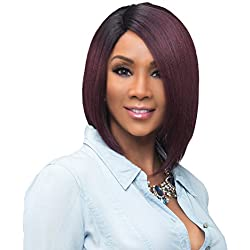 Vivica A Fox Usha Synthetic Heat Resistant Fiber Natural Baby Hair Lace Front Wig, FS4/30, 9.3 Ounce