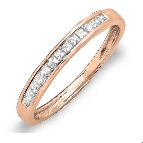 0.33 Ct Princess Diamond - 3