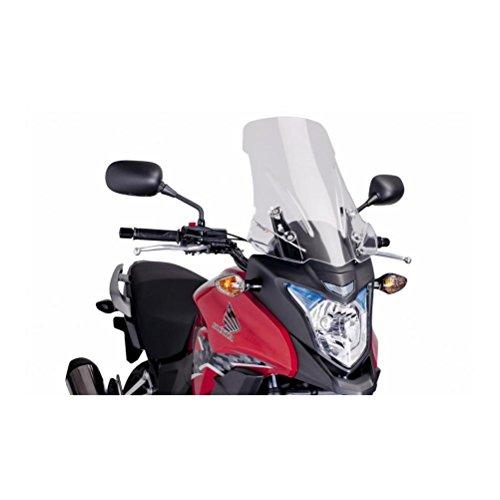 Touring Windscreen - 13-15 HONDA CB500X: Puig Touring Windscreen (SMOKE)