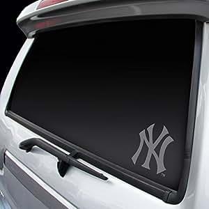 "MLB Yankees New York Window Graphic Sticker, 9"" x 5"" x 0.2"", Team Logo"