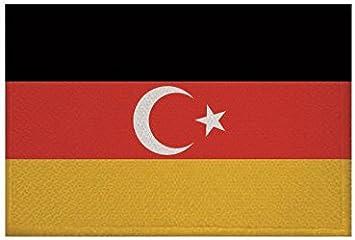 Aufnäher Maastricht Niederlande Fahne Flagge Aufbügler Patch  9 x 6 cm