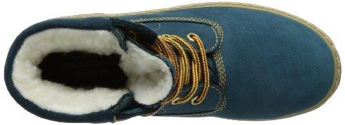 Däumling Timmy St - Andi - Aspen 080031M0150 - Zapatillas de montaña de cuero para niño azul - Blau (Denver petrol)