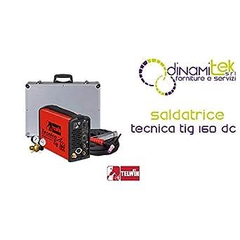 Telwin 815957 Tecnica 160 DC-HF/Lift-Soldadora TIG: Amazon.es: Amazon.es