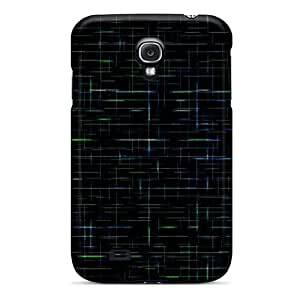 (CJXZzfq1270JQvZV)durable Protection Case Cover For Galaxy S4(lines)