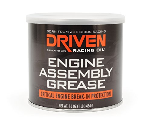 Engine Assembly Lube - DRIVEN Joe Gibbs Racing Oil 00728 Extreme Pressure Engine Assembly Grease - 16 oz. Tub