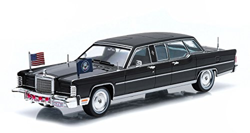 (Greenlight 1:43 Presidential Limos 1972 Lincoln Continental Gerald R. Ford)