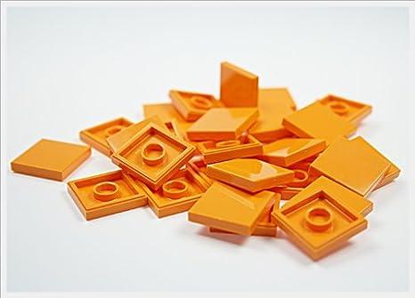 Lego city piastrelle in arancione con noppen kacheln