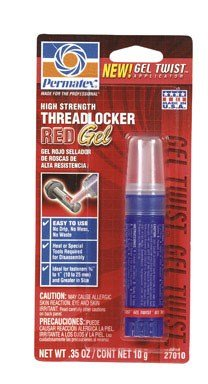 Permatex Threadlocker Red Gel 10 (Gel Twist Applicator)
