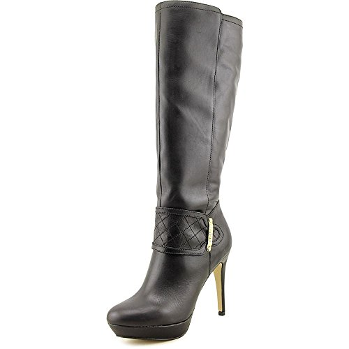 kensie Knee Toe Fashion Closed Nenessa Black Womens Boots High fqHwfOr