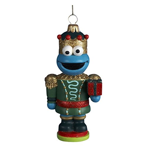 Kurt Adler Cookie Monster Nutcracker Christmas Ornament
