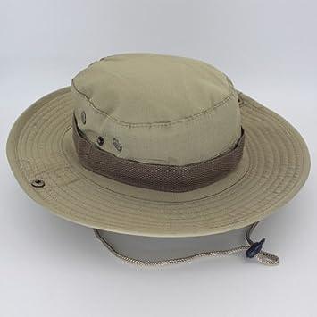 Sombrero de sol para hombre, para actividades al aire libre, pescador, pesca, montaña, selva, sombrero redondo Desert Digital