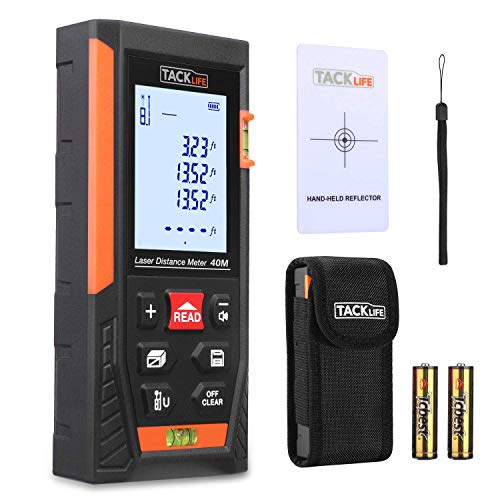Tacklife HD40 Classic Laser Measure 131Ft M/In/Ft Mute Laser Distance