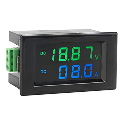 DROK DC 0-200V 10A Digital LCD Volt Amp Multimeter