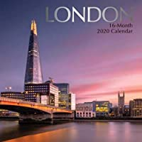 London: 2020 Square Wall Calendar