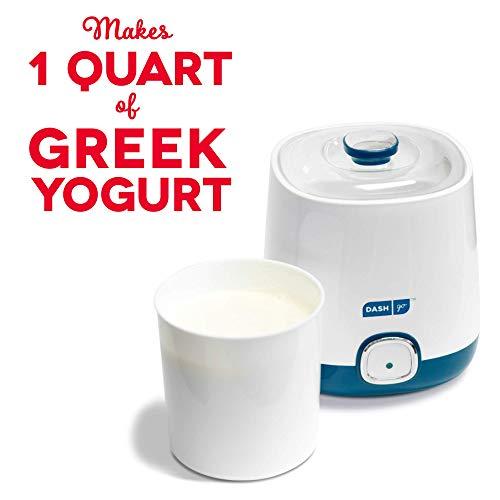 dash greek yogurt maker blue - 7