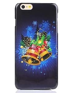 YULIN campana de material de la PC barniz uv caja del teléfono de la navidad para el iphone 6 / 6s