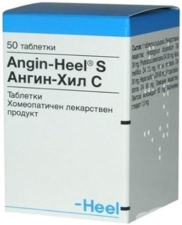 Amazon.com: ANGIN de talón – Homeopatía para tonsillitis ...