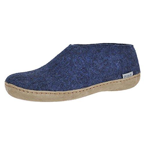 Denim Model - Glerups Model A Shoe Denim Unisex Winter Shoe Size 36M