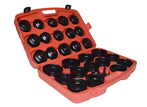 Cap Wrench Socket Tool Set Cap Type Oil Filter Wrench Socket Car Garage Tool by Techtongda (Image #2)