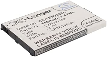 Replacement battery for TELEFUNKEN: Amazon.es: Electrónica