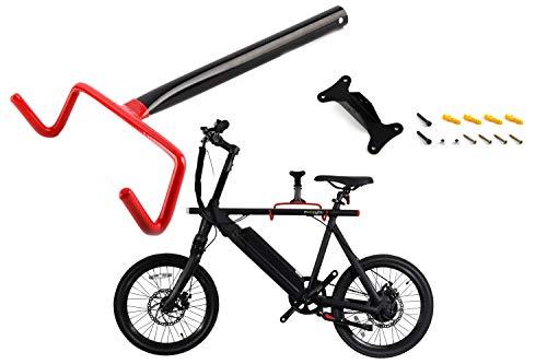 EBIKELING Wall Mount Bicycle Storage Hanger Wall Hook Solid Steel Mount Rack Bike ebike