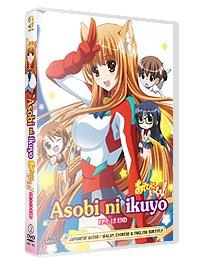 Asobi ni Ikuyo: Bombshells from the Sky (TV) : Complete Box Set (DVD) Uncensored/ Uncut Version