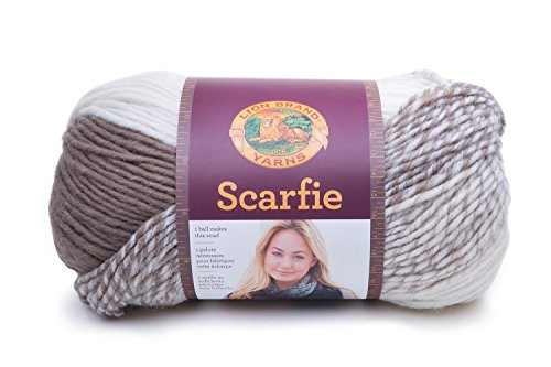 - Lion Brand Yarn Hometown Yarn, Cream/Taupe