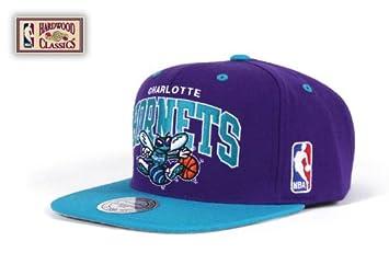 Mitchell and Ness Gorra de los Charlotte Hornets de la NBA: Amazon.es: Deportes y aire libre