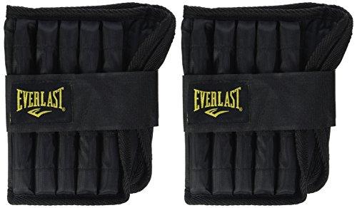 Everlast - Pesas ajustables para tobillo, color negro, talla 2 x 5 lb: Amazon.es: Deportes y aire libre