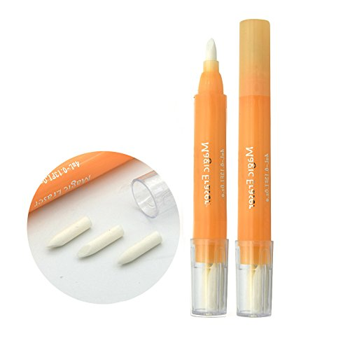HuangHM Eyebrow 1pcs Piercing Tattoo 3 Tips non-toxic medical ink Magic Eraser Pen Scribe Tool Permanent Beauty Makeup Cleanser Kit Tattoo Skin Marker Pen Eyebrow Design Remover